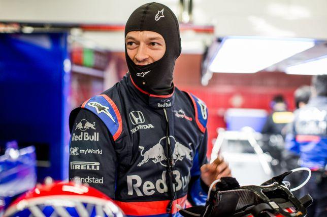 Даниил Квят. Фото: пресс-служба Toro Rosso