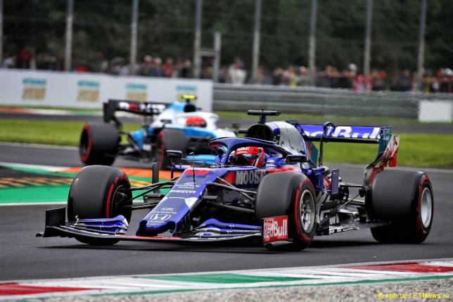 Гран При Италии. Даниил Квят