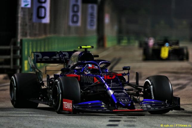 Гран При Сингапура. Пьер Гасли