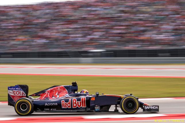 Даниил Квят на Гран При США 2016 года