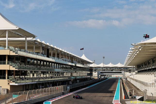 Даниил Квят на прошлогодних тестах в Toro Rosso