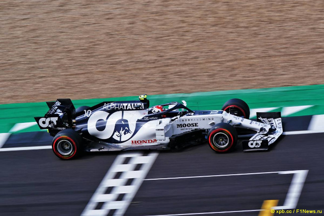 Гран При Великобритании. Пьер Гасли
