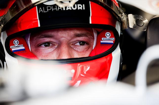Даниил Квят на Гран При Великобритании, фото пресс-служба AlphaTauri/Getty Images