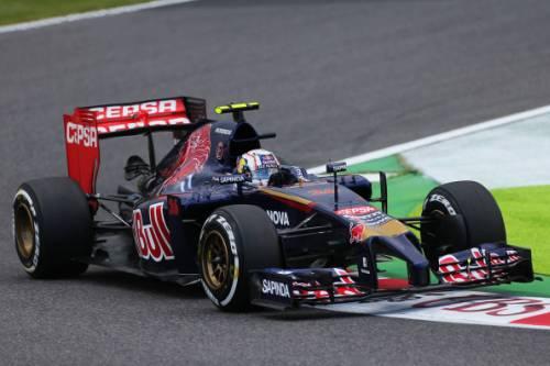 Гран При Японии. Даниил Квят