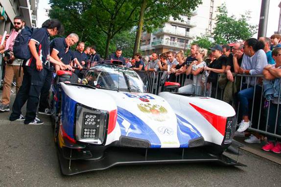 Машина SMP Racing категории LMP2