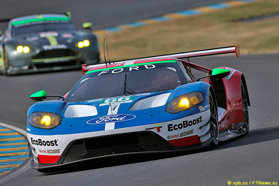 Ford GT команды Chip Ganassi Team UK