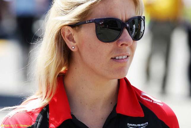 Мария де Виллота на Гран При Испании 2012 года