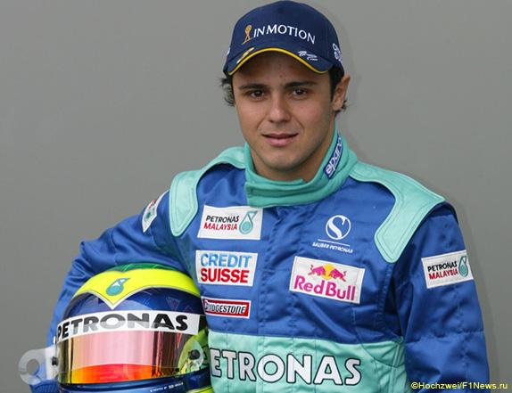 Фелипе Масса дебютровал в Формуле1 в 2002 году в составе Sauber