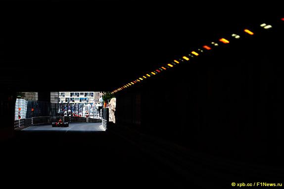 Тоннель в Монако