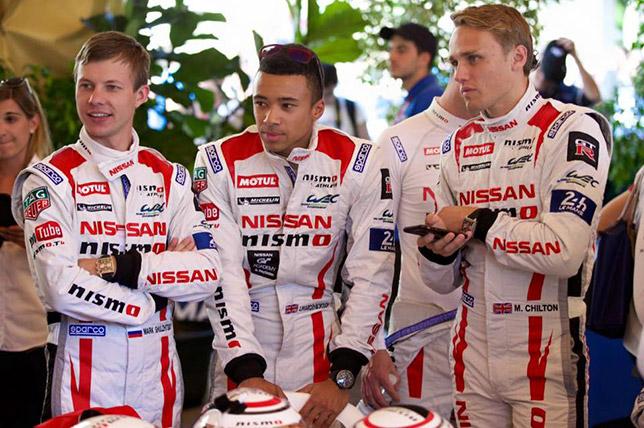 Пилоты Nissan Марк Шульжицкий, Янн Маденборо и Макс Чилтон