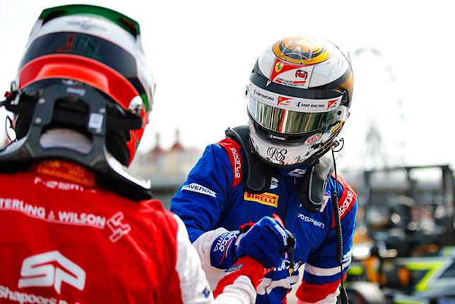 Ф3: Армстронг выиграл гонку в Сочи, Шварцман - титул