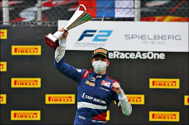 Роберт Шварцман. Фото: пресс-служба SMP Racing. © 2020 Getty Images
