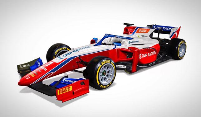 Раскраска машины Роберта Шварцмана в сезоне 2021 года