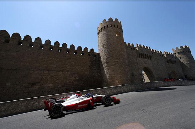 Роберт Шварцман на пути к первой победе в сезоне, фото пресс-службы Формулы 2