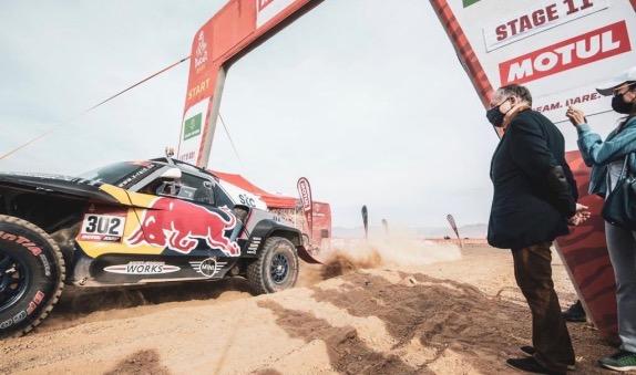 Дакар: Нассер Аль-Аттия одержал шестую победу на этапе