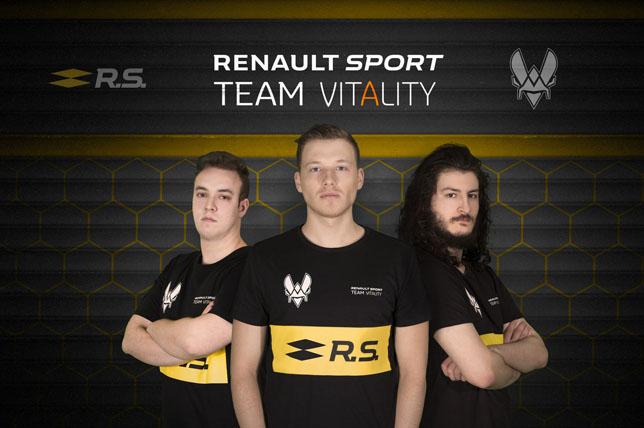 Участники Renault Sport Team Vitality