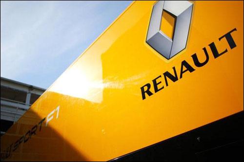 Логотип Renault Sport F1