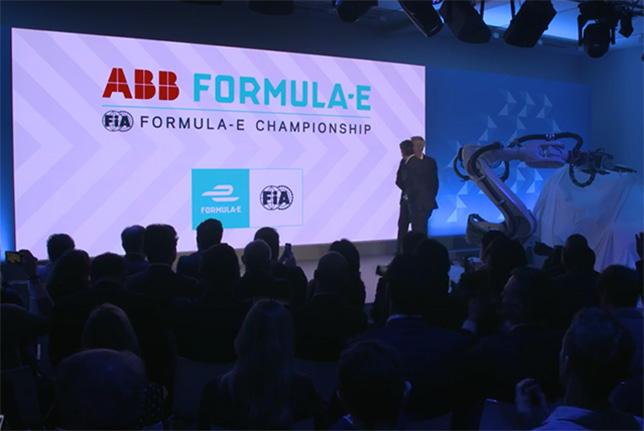 ABB – титульный партнёр Формулы E