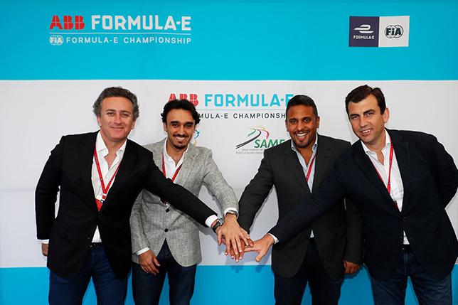 Формула E: Открытие сезона пройдёт в Саудовской Аравии