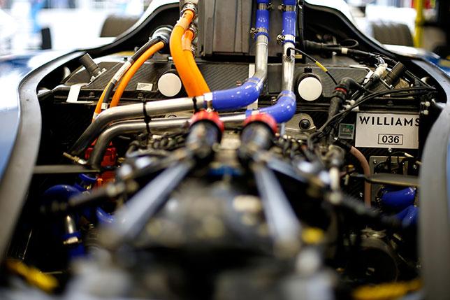 Williams Engineering отмечает четыре года с Формулой E