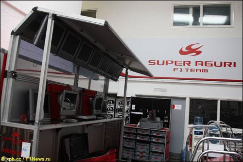 В прошлом году имущество Super Aguri пошло с молотка