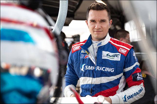 Михаил Алёшин. Фото: SMP Racing