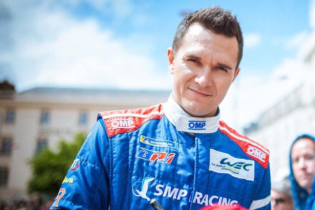 Михаил Алешин, фото SMP Racing