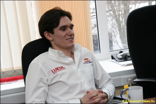 Михаил Алёшин в офисе F1News.Ru