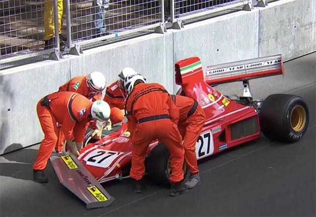 Жан Алези разбил Ferrari Ники Лауды в Монако