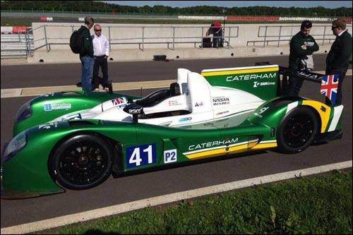 Zytek Z11SN-Nissan команды Greaves Motorsport в цветах Caterham