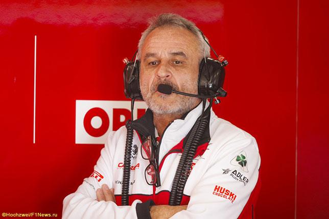 Беат Цендер, тим-менеджер Alfa Romeo Racing