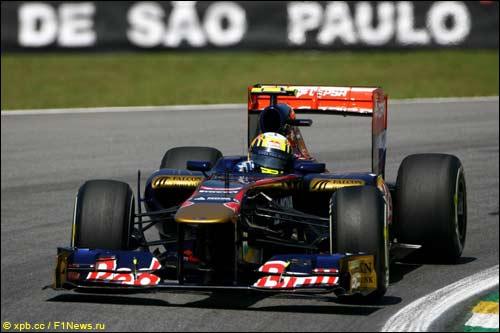 Хайме Альгерсуари на Гран При Бразилии