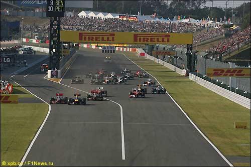 Старт Гран При Японии, 2011-й год