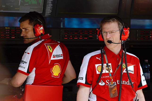 Джеймс Эллисон (слева)