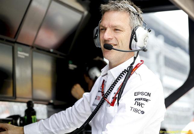 Джеймс Эллисон, технически директор Mercedes