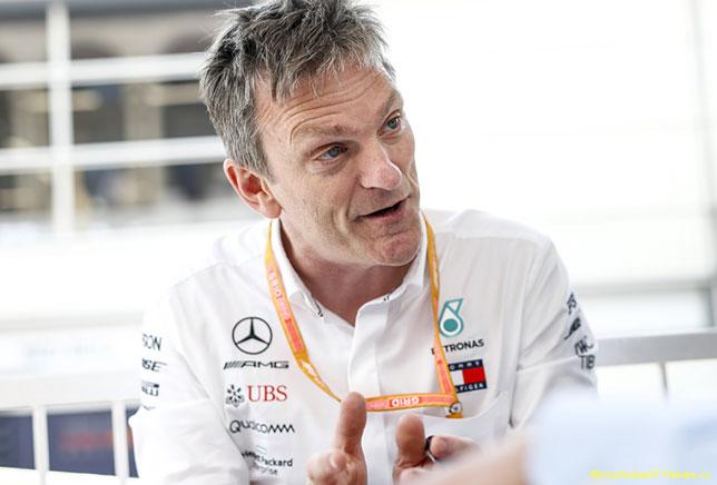 Джеймс Эллисон, технический директор Mercedes