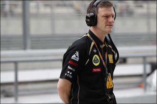 Джеймс Эллисон, технический директор Lotus Renault GP