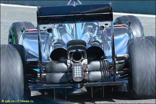 Задняя часть McLaren MP4-29