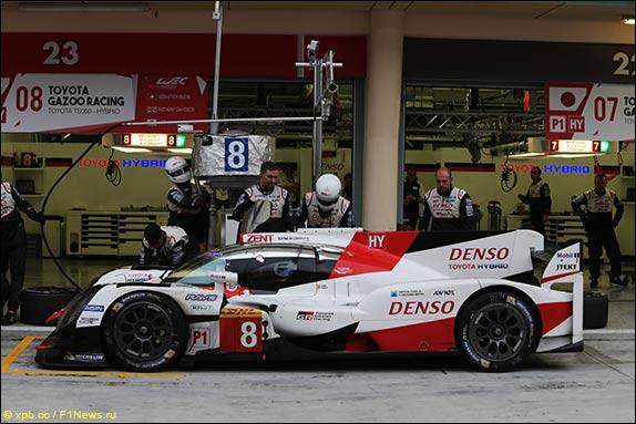 Фернандо Алонсо за рулём Toyota
