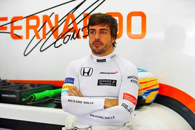 Пилот «Формулы-1» Алонсо примет участие вгонке «24 часа Дайтоны»