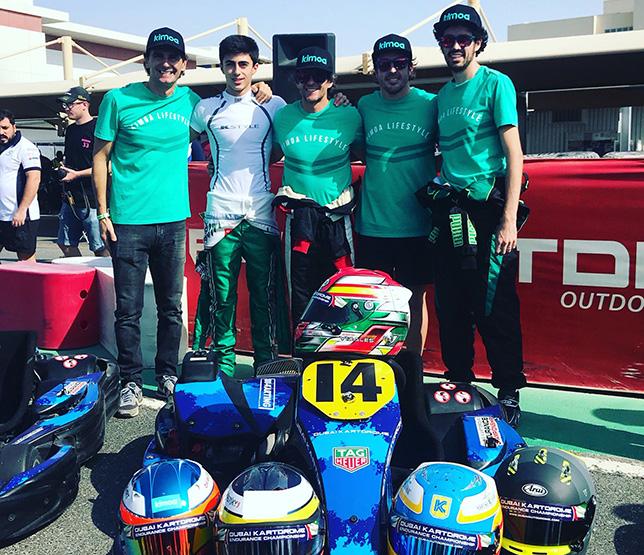 Команда FA Racing на 24-часовой гонке в Дубае