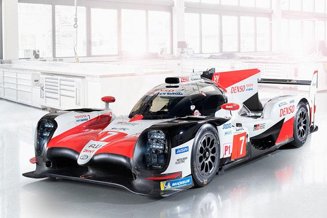 Видео: Фернандо Алонсо тестирует Toyota TS050