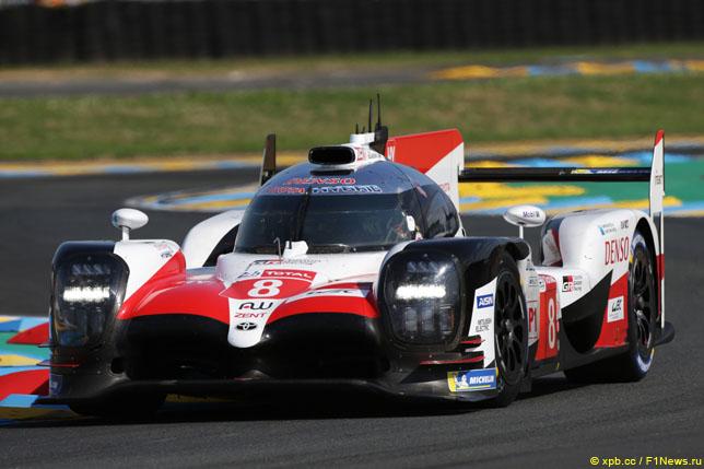 В Toyota отрицают, что делают ставку на экипаж Алонсо