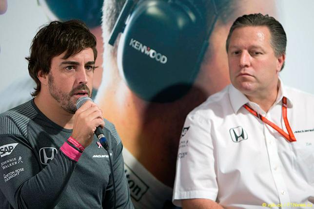 В McLaren ищут пути для Алонсо в IndyCar