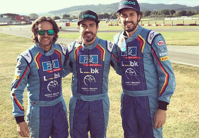 Команда Фернандо Алонсо, выигравшая 6-часовой картинговый марафон