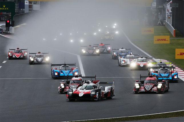 Старт 6-часовой гонки на Fuji Speedway