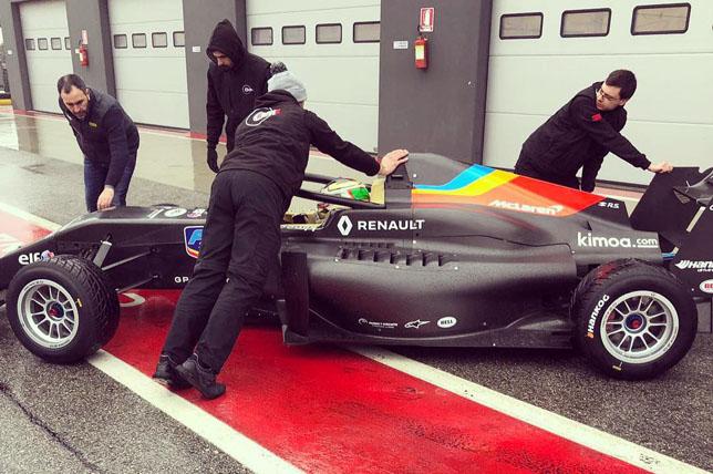 Машина команды FA Racing