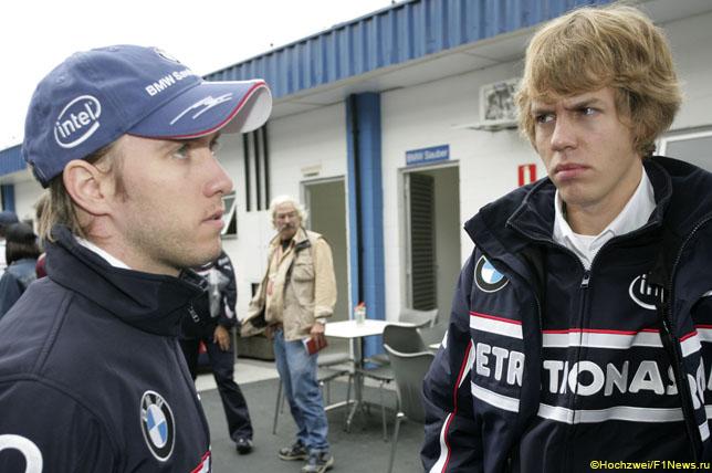 Ник Хайдфельд и Себастьян Феттель, 2006 год