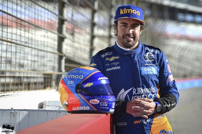 视频:阿隆索测试车的IndyCar