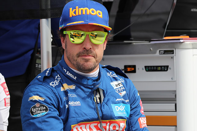 Фернандо Алонсо, фото IndyCar